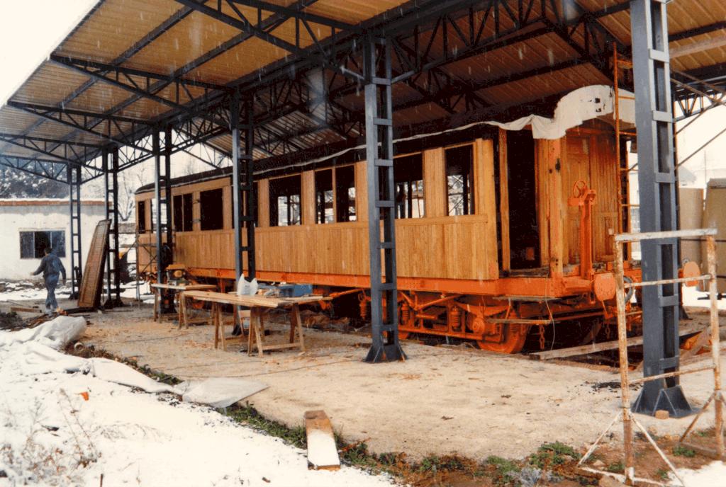 El vagón de Beni - Historia